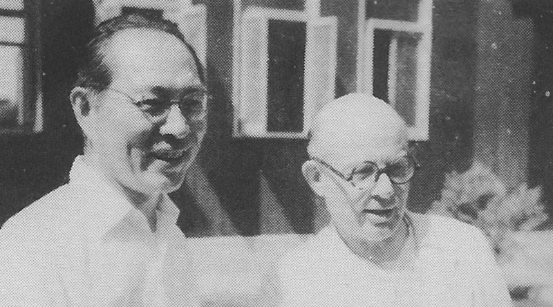 磯野氏とナーベルフェルト神父